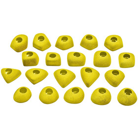 Ocun Footholds Set 1 Bolt-On yellow